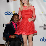 OIC - ENTSIMAGES.COM - Ade Adepitan and Elle Exxe at the 11th Annual Screen Nation Film & Television Awards in London 15th February 2015 Photo Mobis Photos/OIC 0203 174 1069