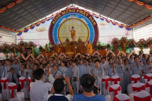 Ban Trị sự GHPGVN tỉnh Bình Định Trang trọng cử hành Đại Lễ Phật Đản PL. 2560 – DL. 2016