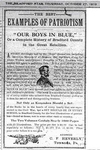 Civil War Book Add