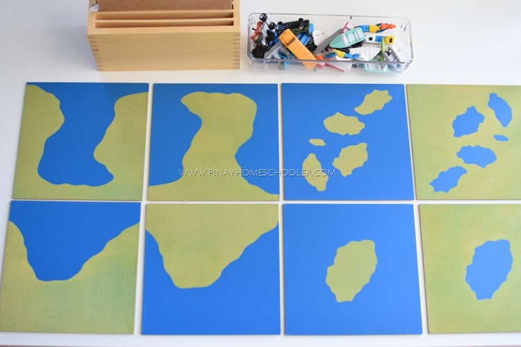 Teaching Land and Water Forms to Preschoolers Through Play