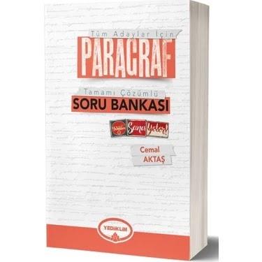 Yediiklim Yayınları - TYT Türkçe - Çözümlü Paragraf Soru Bankası