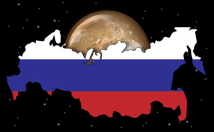 Russia has more surface area than Pluto.