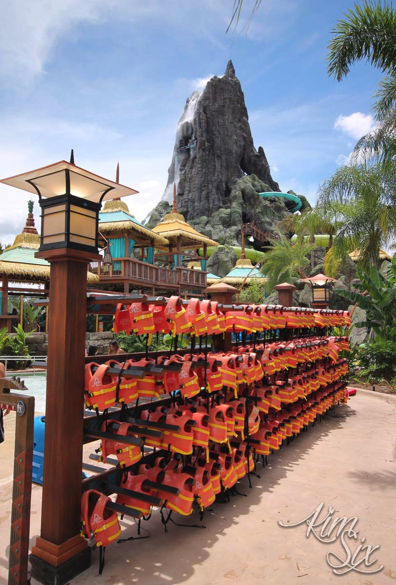 Volcano Bay Life Vests