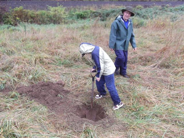 Digging the Facilities.