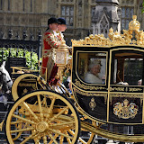ENTSIMAGES.COM - HM The Queen Elizabeth II at the State Opening of Parliament in London 27th May 2015 Photo Mobis Photos/OIC 0203 174 1069
