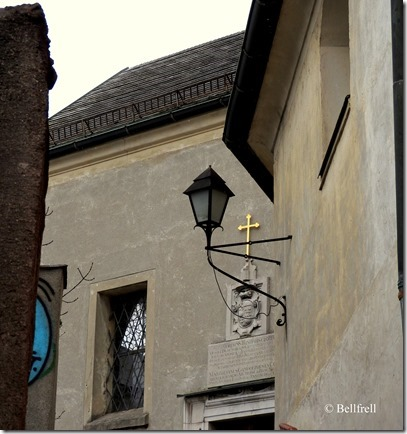 Imbergkirchlein von unten außen