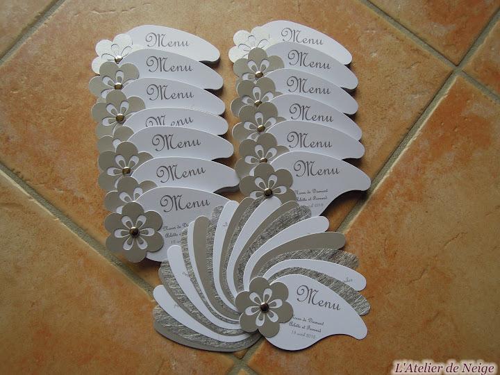 254 - Menu Noce de Diamant  Arlette et Fernand 19 avril 2015