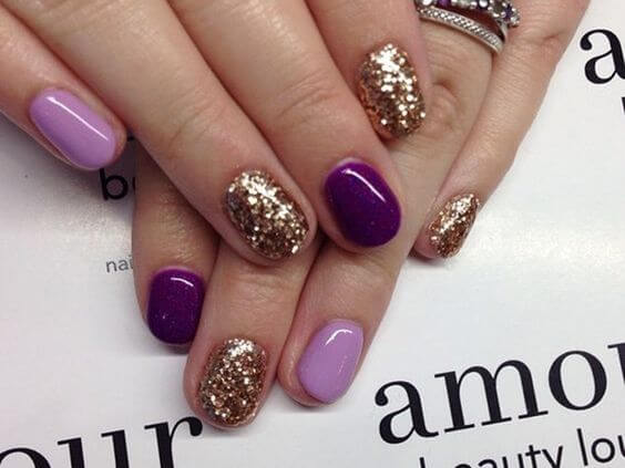 Lovely And Vibrant Shellac Nail Designs Manicure Nails C