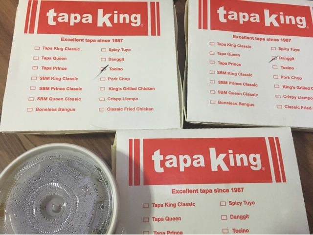 Tapa King Delivery hotline