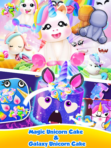 Unicorn Food - Sweet Rainbow Cake Desserts Bakery 2.7 screenshots 1