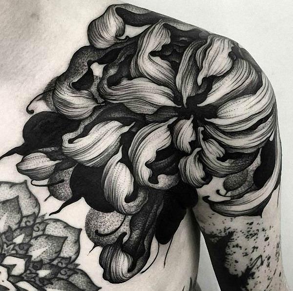 este_floral_ombro_peça