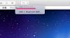VMware FUSION の上部タブに「USB デバイスなし」と表示される