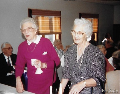 Lucille Taskey and Evelyn Larson