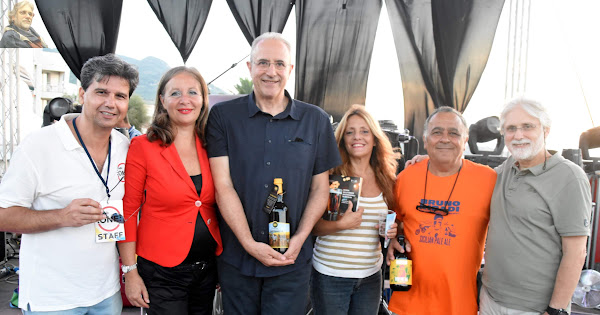 2018-09-09 Presentazione 'Guida alle birre' al SicilyFoodFest di Cefalù con RadioOne