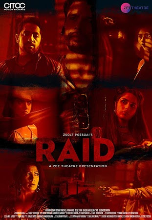 Poster Of Hindi Movie Raid 2019 Full HD Movie Free Download 720P Watch Online