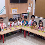 Eid Celebration by Nursery Morning section at Witty World, Chikoowadi (2018-2019)
