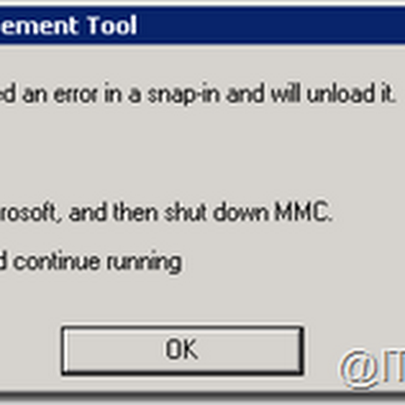 "IT Guy Diaries: Error ""FX:{6FBE5D92-C65A-41DC-AEBF-09D8845F68A1}"" launching VAMT 3.0 installed on Windows Server 2008 R2"