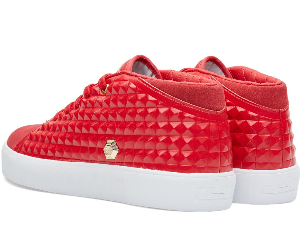 2c8de7e2c155 ... Nike LeBron XIII NSW Lifestyle Gym Red amp Metallic Gold ...