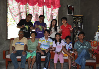 April 29: John Michael's Family and Grandparents (San Mateo, Isabela)