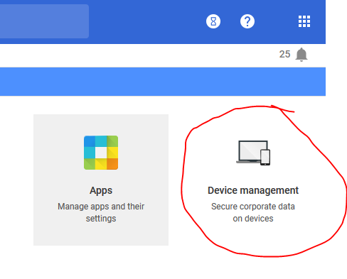 Google Admin Device Management