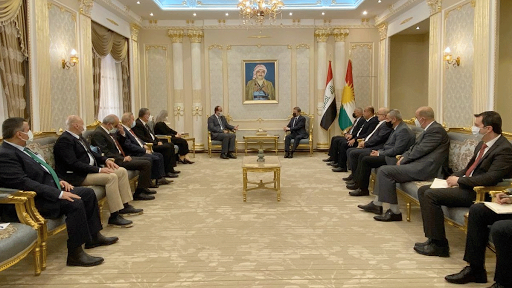 الحزب الديمقراطي الكردستاني سيفتح مكتب كبير للإئتلاف السوري وسط هولير؟!!