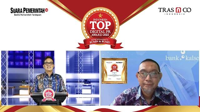 Raih Indonesia TOP Digital PR Award 2021, Bank Kalsel Terus Tingkatkan Citra Perusahaan