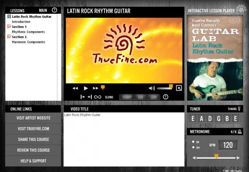 Brad Carlton's Guitar Lab: Latin Rock Rhythm