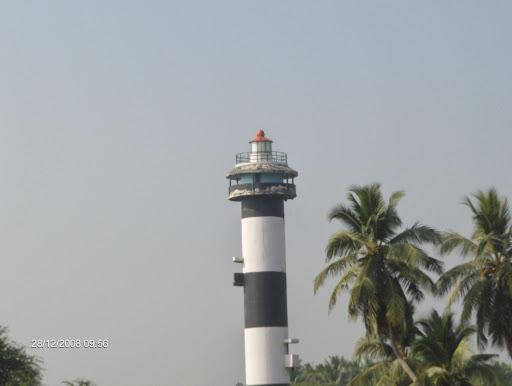 A real light house near the beach
