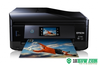 How to Reset Epson XP-860 flashing lights error