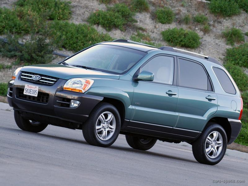 2007 Kia Sportage SUV Specifications, Pictures, Prices