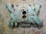 Used 2 barrel intake 1957-61 364  50.00