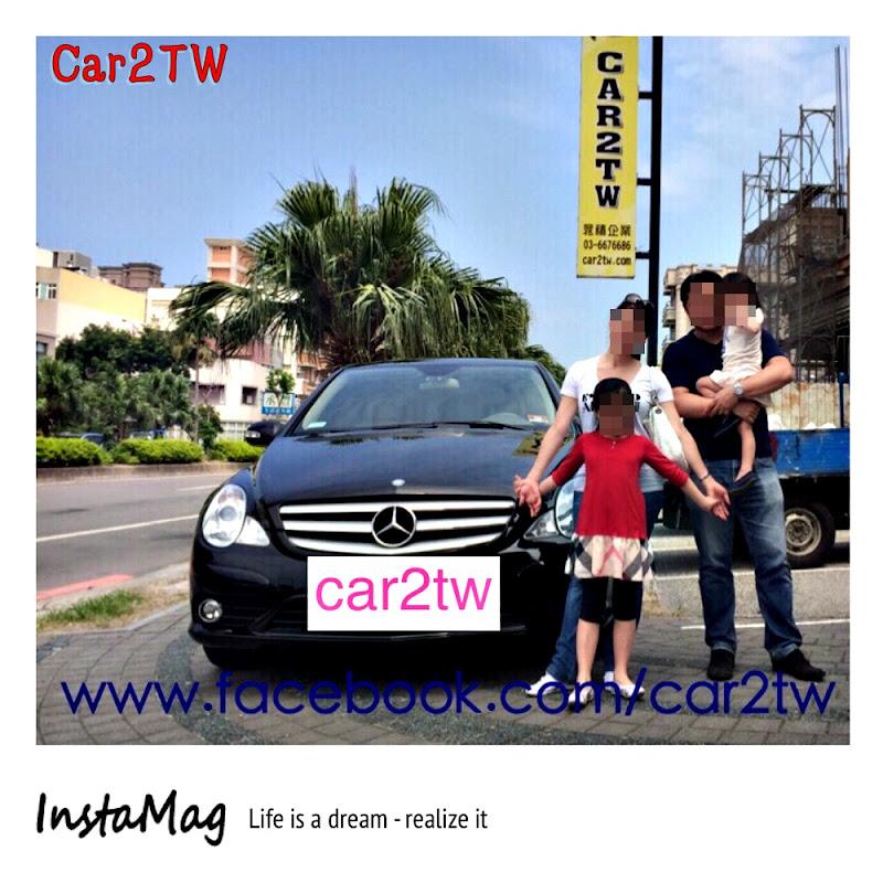 2008賓士R350車主對Car2TW的感謝文,因為這台車是先生送的聖誕節禮物,對車主而言意義非凡,Car2TW協助從美國紐澤西運送2008 BENZ R350回台灣。