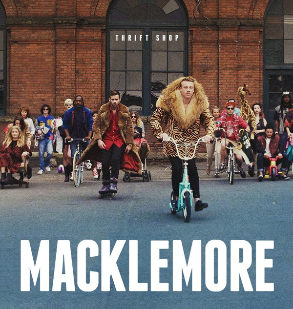 Macklemore - Thrift Shop - single album cover