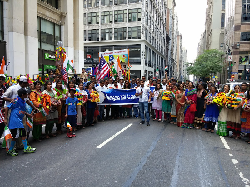 Telangana State Float at India Day Parade NY 2015 - 20150816_134902.jpg