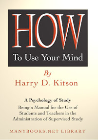 Cover of Harry Kitson's Book How To Use Your Mind
