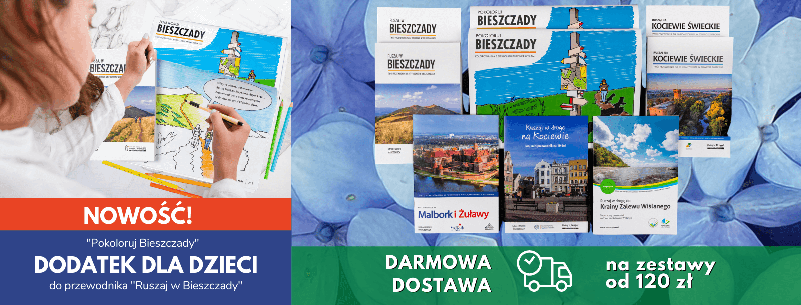 Zobacz zestawy przewodników po Polsce - idealne na prezent
