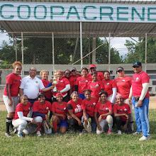 Equipo de Softball femenino patrocinado por Coopacrene gana torneo provincial en Bahoruco.