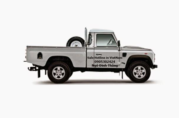 Land Rover Defender 110 High Capacity Pick Up