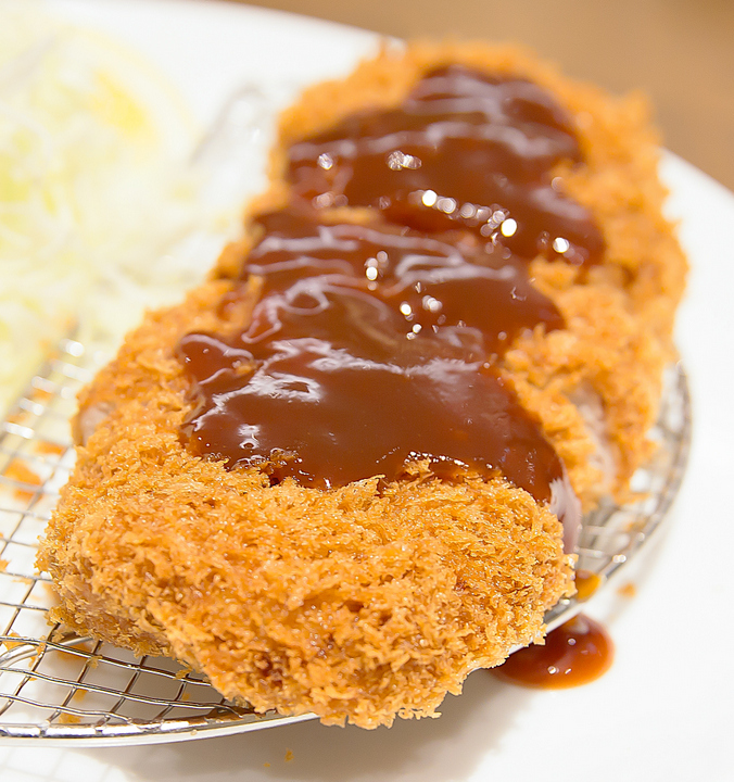 close-up photo of Tonkatsu