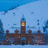Main Hall in Winter. Photo by Nelson Kenter. All Rights Reserved. Prints available at www.kenterphotography.com