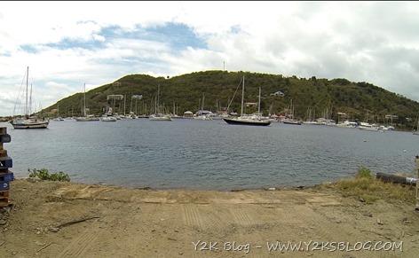 Y2K alla boa a Soper's Hole - Tortola