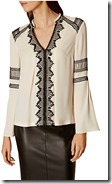 Karen Millen Embroidered Blouse