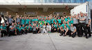Mercedes F1 team 1-2 celebration