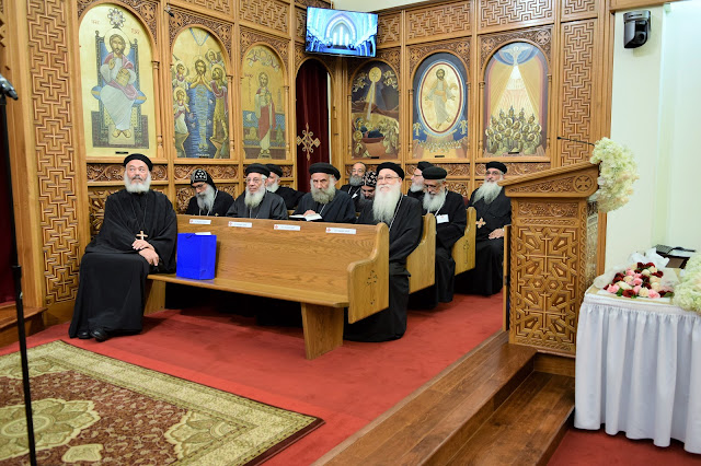 His Holiness Pope Tawadros II visit to St. Mark LA - DSC_0086.JPG