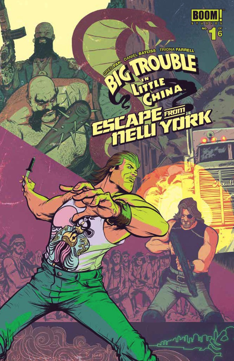 Big Trouble in Little China Escape from New York  1