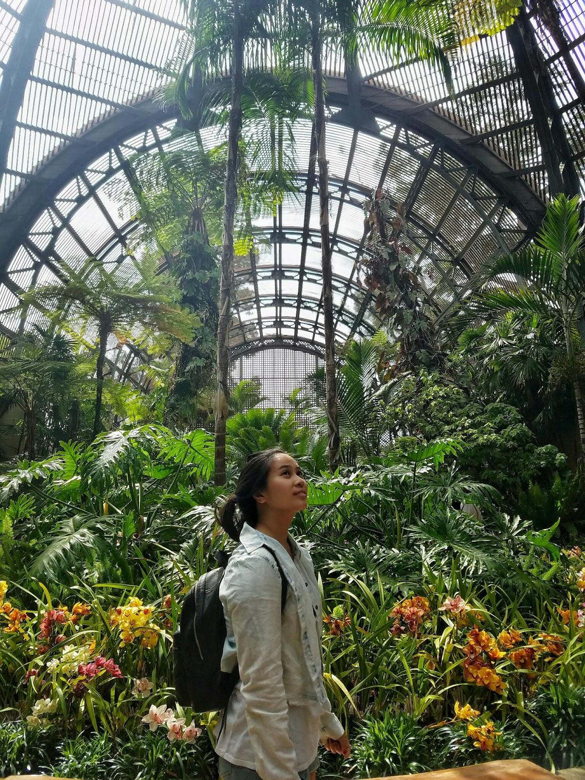 San Diego Botanical garden ootd