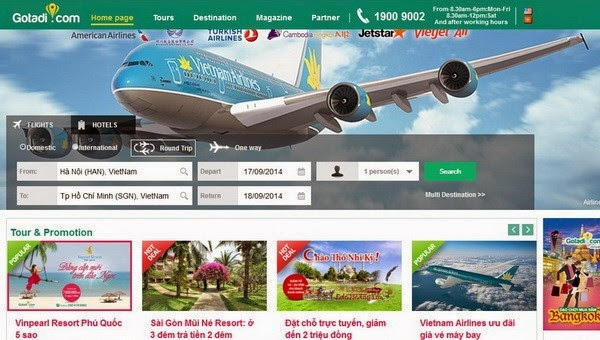 New online booking site enters Vietnamese travel market