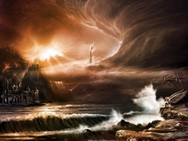 Great Land Of Storm, Magical Landscapes 1