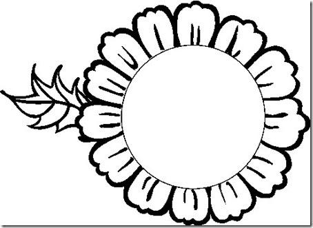 flore sencillas para colorear  (12)