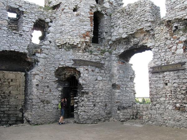 zamek ogrodzieniec - baszta kredencerska